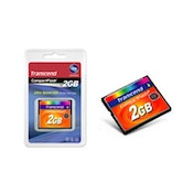 Transcend 2GB 133x Compact Flash Card