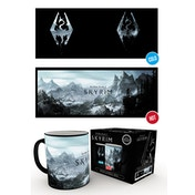 Skyrim Dragon Symbol Heat Change Mug
