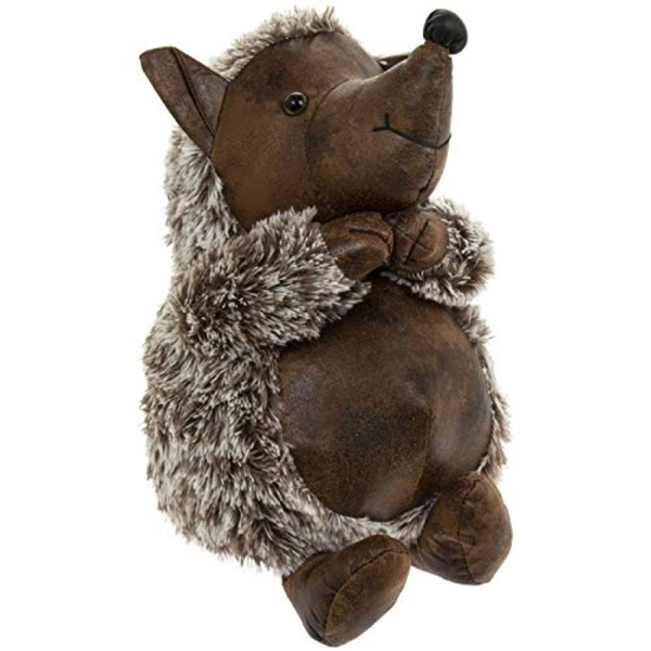 Faux Leather Hedgehog Doorstop By Lesser & Pavey