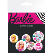 Barbie Mix Badge Pack