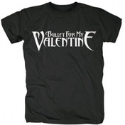 Bullet For My Valentine - Logo Men's Small T-Shirt - Black