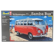 VW Samba Bus (Cars) 1:24 Level 5 Revell Model Kit