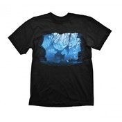 Dragon Age Dragon Mist T-Shirt Small Black