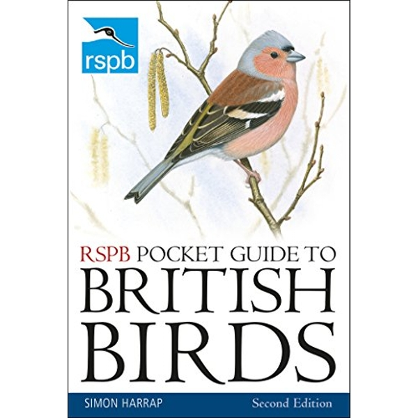 RSPB Pocket Guide to British Birds by Simon Harrap (2018, Paperback, 2nd Edition)