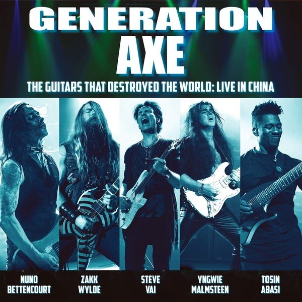 Generation Axe - The Guitars That Destroyed The World (Live In China) Vinyl
