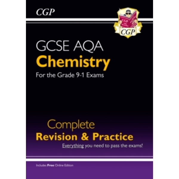 New Grade 9-1 GCSE Chemistry AQA Complete Revision & Practice with Online Edition by CGP Books (Paperback, 2016)
