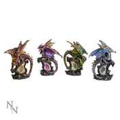 Protector Dragons (Set of 4) Statue
