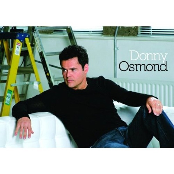 Donny Osmond - On Couch Postcard