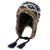 Airwalk Knit Trapper Hat Mens Navy