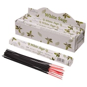 Sage (Pack Of 6) Stamford Hex Incense Sticks
