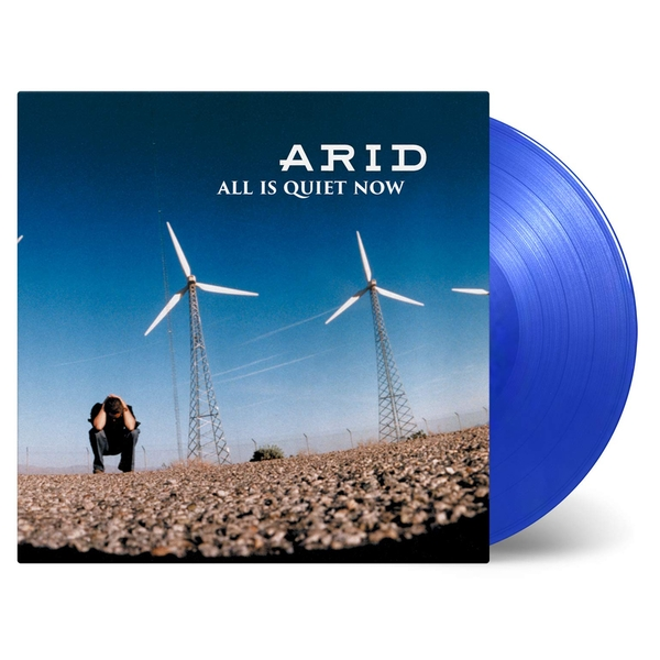 Arid - All Is Quiet Now Transparent Blue  Vinyl