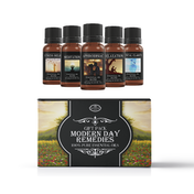 Mystic Moments Modern Day Remedies Essential Oils Blend Starter Pack
