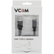 VCOM USB 3.0 A (M) to USB 3.0 C (M) 1m Black Retail Packaged Data Cable - Image 2