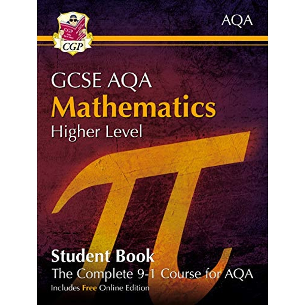 New Grade 9-1 GCSE Maths AQA Student Book - Higher (with Online Edition)  Paperback / softback 2018
