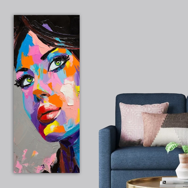 DKY381379990_50120 Multicolor Decorative Canvas Painting
