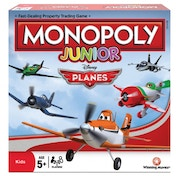 Disney Planes Monopoly Junior Edition