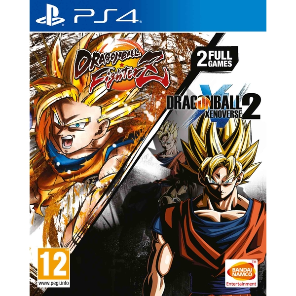 Dragon Ball FighterZ + Dragon Ball Xenoverse 2 PS4 Game