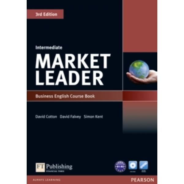 Market Leader 3rd Edition Intermediate Coursebook & DVD-Rom Pack by David Falvey, Simon Kent, David Cotton (Mixed media product, 2010)