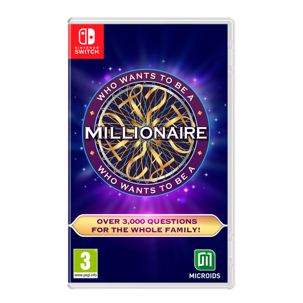 Who Wants To Be A Millionaire Nintendo Switch Game