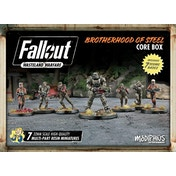 Fallout Wasteland Warfare Brotherhood of Steel Core Box Board Game