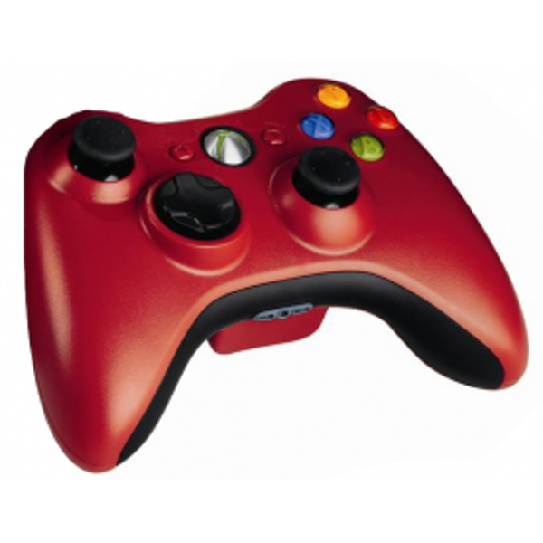 Wireless Controller In Dark Red (Bagged) Xbox 360