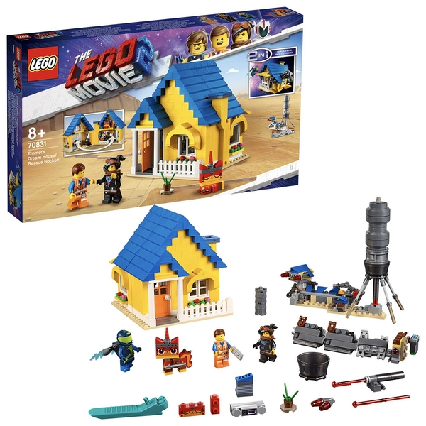 LEGO Movie 2 Emmet's Dream House Rescue Rocket