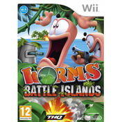 Worms Battle Islands Game Wii