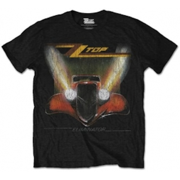 ZZ Top Eliminator Mens Black T Shirt: XXL
