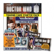 Doctor Who Alien Attax 50th Anniversary Collector's Edition Trading Card Starter Pack