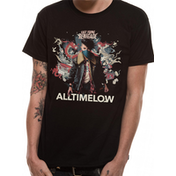 All Time Low - Renegade Burst Men's X-Large T-Shirt - Black