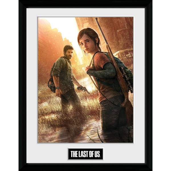 "The Last Of Us Key Art Collector Print (12"" X 16"")"