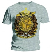 Young Guns Without Pain Mens Grey T Shirt: Small