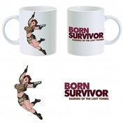 Tomb Raider Born Survivor Mug ZT