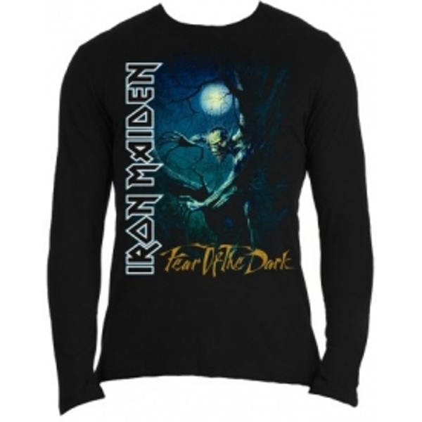 Iron Maiden Fear of The Dark Long Sleeve Shirt: X Large