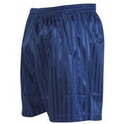 Precision Striped Continental Football Shorts 30-32 inch Navy Blue