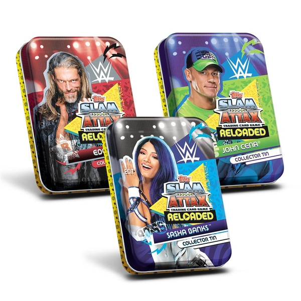 WWE Slam Attax Reloaded Mini Collector Tin - One At Random