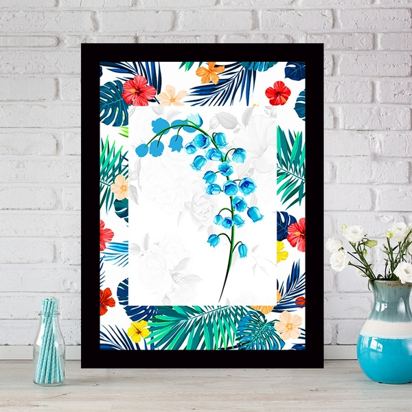 SCZ56698251712 Multicolor Decorative Framed MDF Painting
