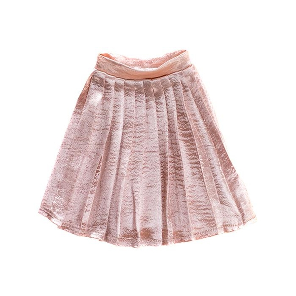 I'm a Girly Light Pink Pleated Skirt