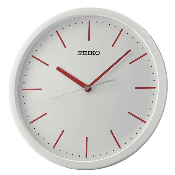 Seiko QXA476R Wall Clock - White