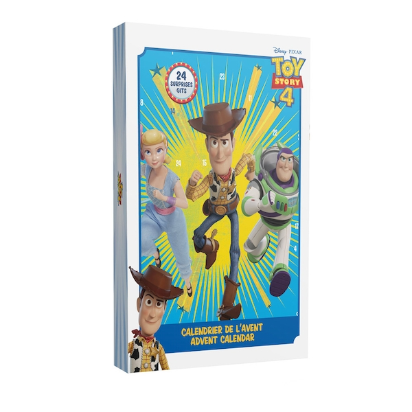 Disney Toy Story 4 Advent Calendar with 24 Surprises