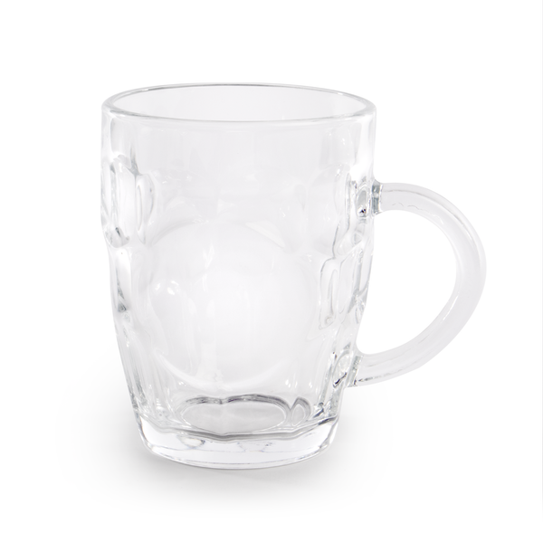 Glass Beer Tankards - Set of 4 | M&W