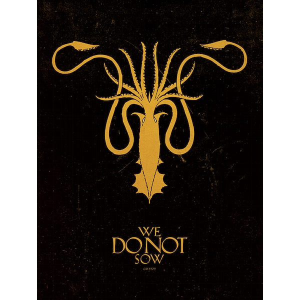 Game of Thrones - Greyjoy Canvas