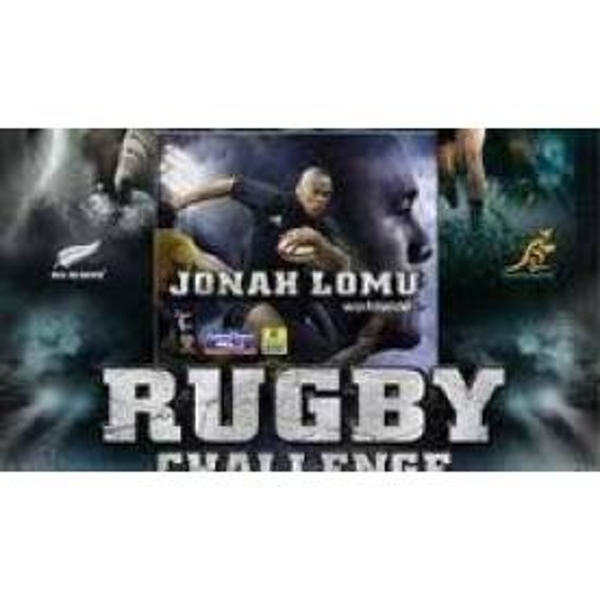 Jonah Lomu Rugby Challenge Game PSP