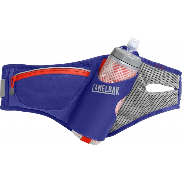 Camelbak Delaney Hydration Waistpack with 620ml Podium Chill Deep Amethyst/Fiery Coral