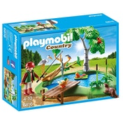 Playmobil Country Fishing Pond