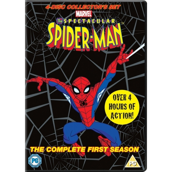 Spectacular Spider-Man Volumes 1-4 Complete 1st Season DVD