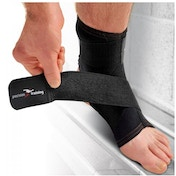 Precision Neoprene Ankle with Strap Support Large