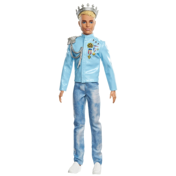 Barbie You Can Be Anything Princess Adventure Prince Ken Doll in Fashion & Accessories [Damaged Packaging]