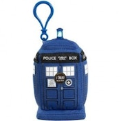 Doctor Who Tardis Plush Key Chain With Sound