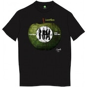 The Beatles Something/Come Together Mens Blk TS: Medium
